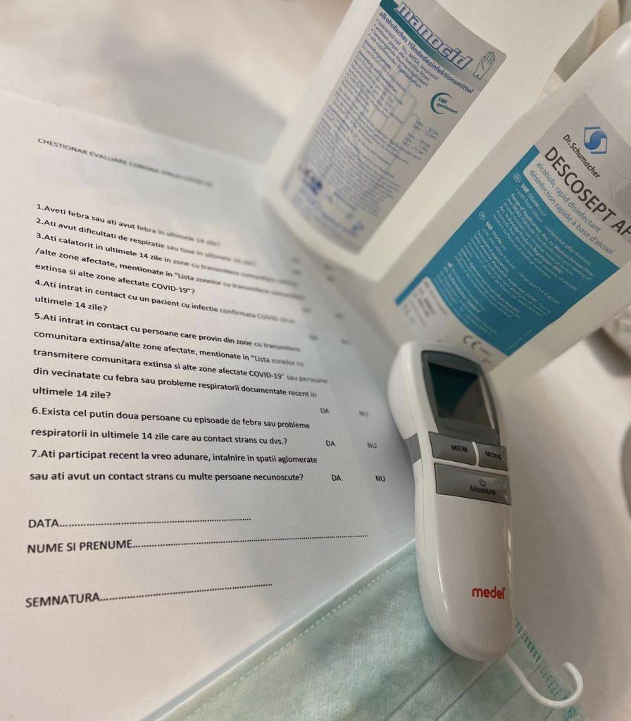 Reguli de igienă - Dezinfenctant Salon Glow Up