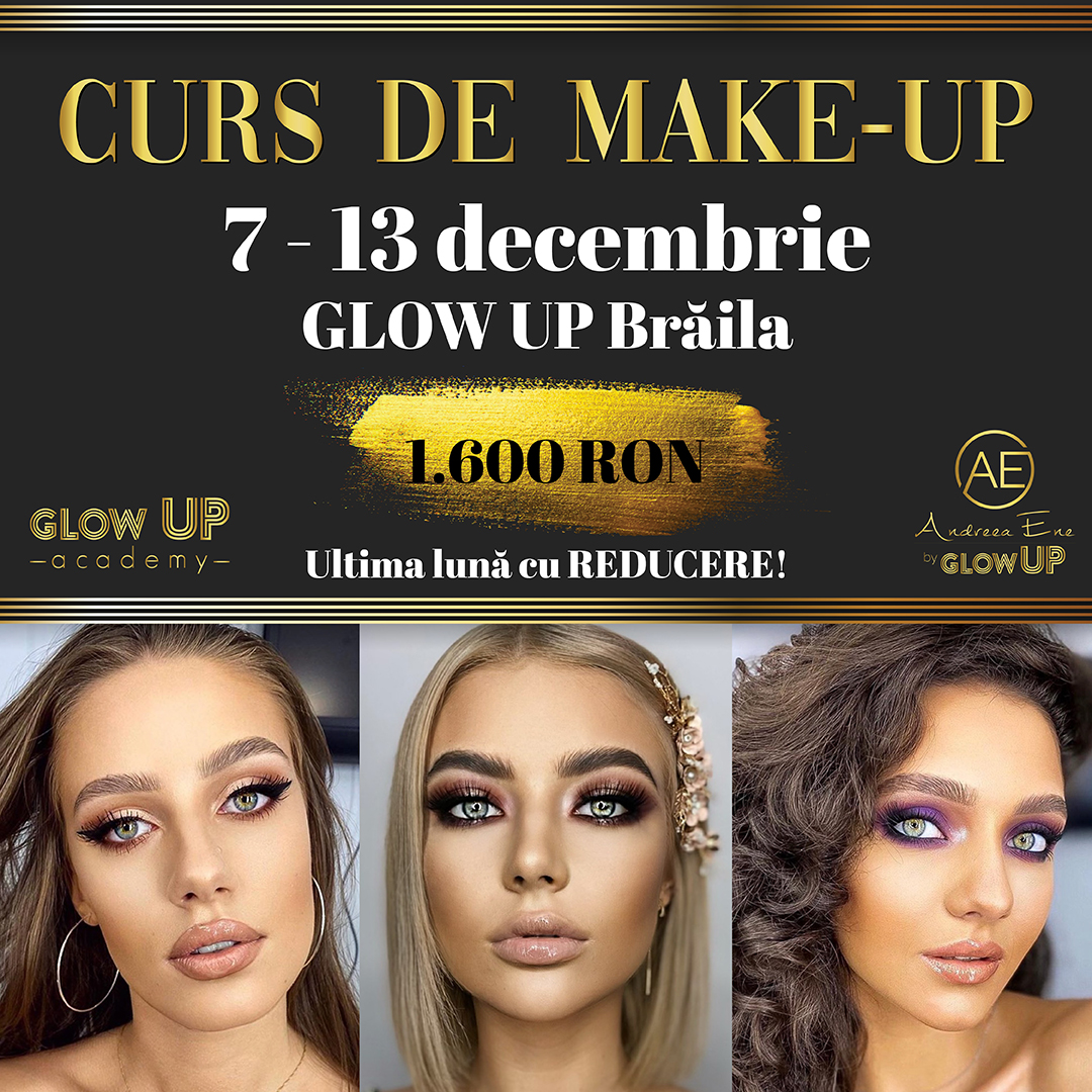 curs makeup decembrie